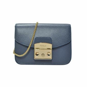Harga Furla Avio Scuro Mini Metropolis Crossbody Bag (Retail $630)
