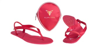 Harga Flipsters Flip Flops - Red - M