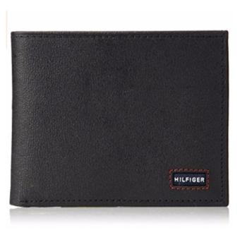 Harga Tommy Hilfiger Men's Wallet with Fixed Passcase black - intl