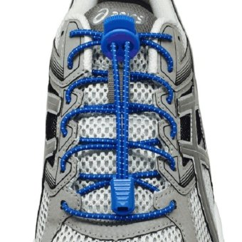 Harga I-RUN Elastic Running Shoe Laces (Royal Blue).