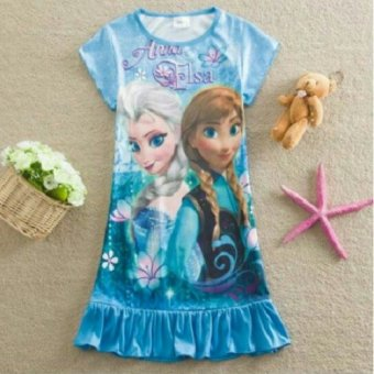 Harga Kid's Dress (Elsa and Anna of Frozen)