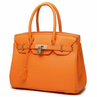 Harga 3 Way Tote Bag Locker Bag LB-CA04- Orange