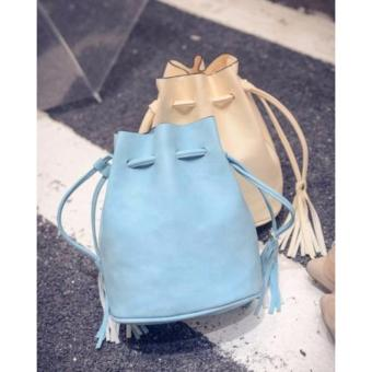 Harga SOPHIA BUCKET BAG (BLUE)