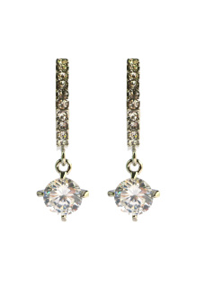 Harga Rosevette Diamondly You Earrings (White Gold)