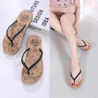ladies rubber flip flops