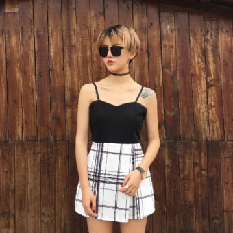 Korean-style spring and summer New style Dungaree Dress shorts