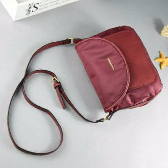 Mango Nylon Cross Body Sling Bag (Red)