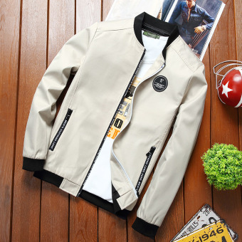 Men spring New style jacket (Khaki)