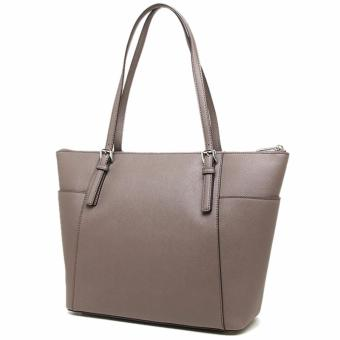 ... MICHAEL KORS JET SET TRAVEL LARGE TOTE BAG (CINDER) - 3 ...