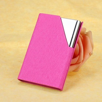 Mini Box Pocket Wallet Business Name ID Credit Card Case Holder NewHP - intl