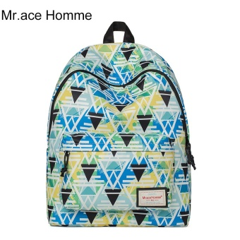 MR. Ace homme Korean-style hot selling printed travel computer bag women's bag