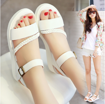 New Style High School Students sandals (601 white) (601 white)
