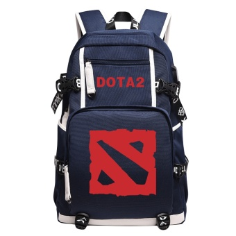Harga Royal Game team backpack (Dark blue logo)