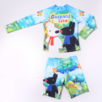 Sports cute summer children boy's baby swimsuit children's one-piece swimsuit