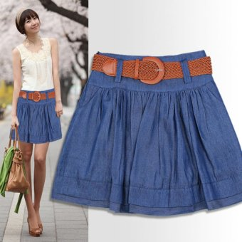 Spring and New style Korean-style denim skirt