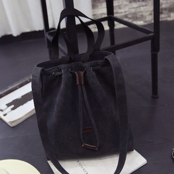 SUN Song Huiqiao celebrity inspired tote bag Korean (Black)