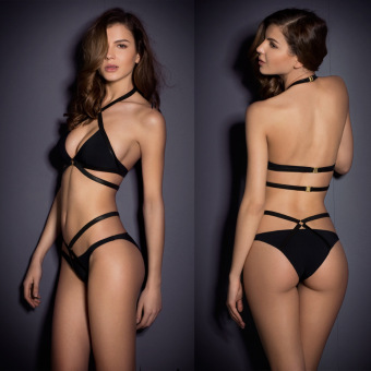 Swimsuit 2016 high waist swimsuit women sexy push up bathing suit