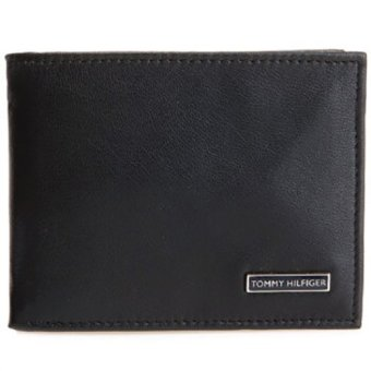 Harga Tommy Hilfiger Passcase Billfold Men's Wallet Black # 31HP22X012