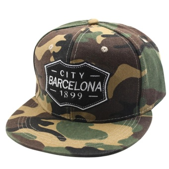 Unisex Men Women Adjustable Snapback Hip-hop Baseball Cap HatCamouflage - intl