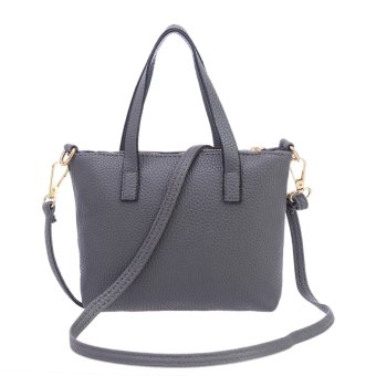 Women Messenger Bag Shoulder Bag (Gray)