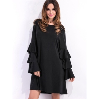ZASHION European Dress | Shirts | Tops Collection Black - intl