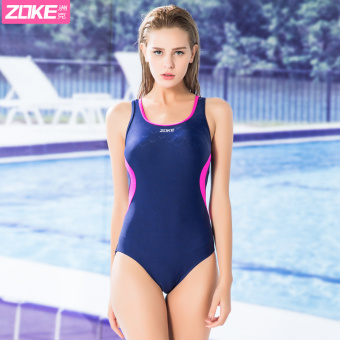 Zoke professional sports training game swimsuit piece swimsuit