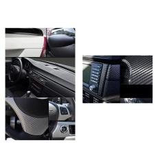 150*30CM 3D Carbon Fiber Film Vinyl Sticker Car Body / Interior Decoration Grey -