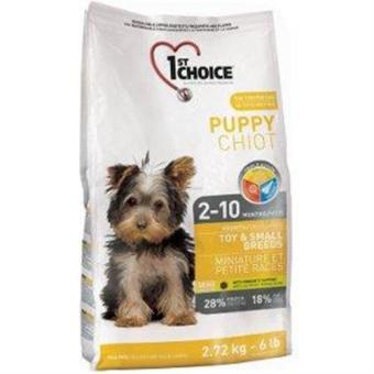 Harga 1ST CHOICE PUPPY, TOY & SMALL BREEDS 2.72kg