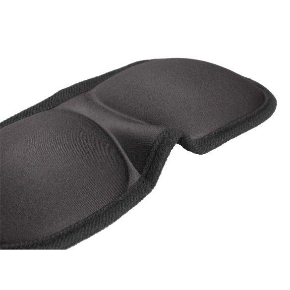 2PCS 3D Sleeping Eyeshade Eye Mask Blindfold Cover Soft Blind Pack Travel (Intl)