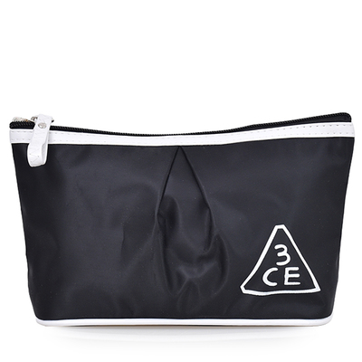 3CE makeup bag travel wash bag Korean cosmetic admission package large capacity waterproof clutch bag small portable package
