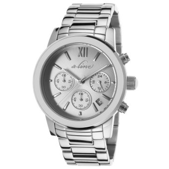 A_line Women Watches Sophi Chic Chronograph Silver-Tone AL-80597-22S