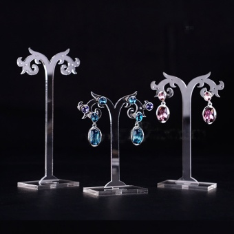 Acrylic creative hanging earrings holder earrings rack jewelry display jewelry rack earrings storage jewelry display props