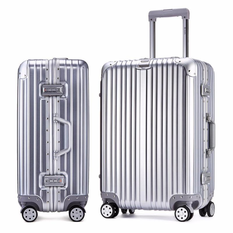 Aluminum-Framed Hard Case Scratch Resistant Trolley Luggage 20 inches