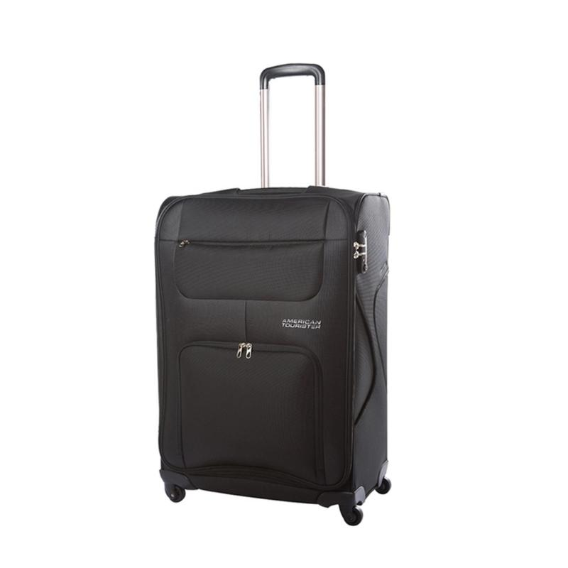 American Tourister MV+ Spinner 50/18 w/ Combi (Black)