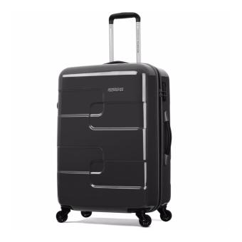American Tourister Puzzle Cube Spinner 68 (Charcoal)