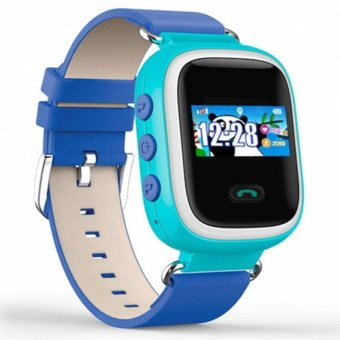 Anti-Lost Children Smart GPS Watch SIM GSM SOS Locator For Android IOS - intl