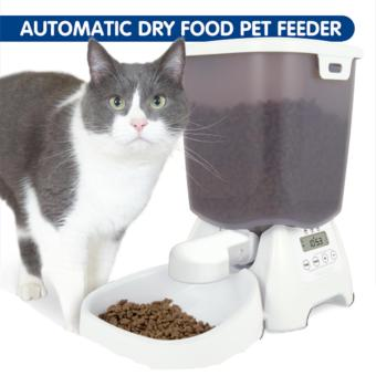 Automatic Dry Food Pet Feeder for Cat Small Dog