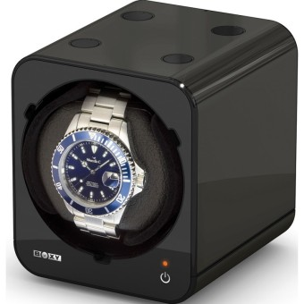 Harga Boxy Fancy Brick Single Watch Winder Black
