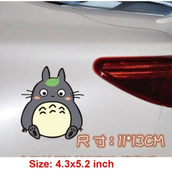 Car Sticker Decal Tonari no Totoro Car Decor Vinyl Wrap 11x13cm - intl