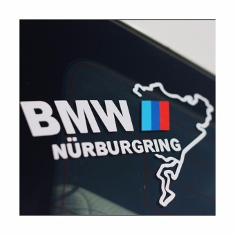 Car sticker NURBURGRING sport window decal BMW 20*12cm - intl
