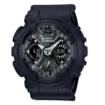 Casio G-Shock S Series new GMA-120 Black Resin Band Watch GMAS120MF-1A