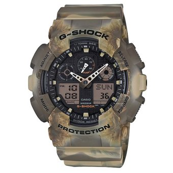 Casio G-Shock Special Color Models Camouflage Series Men's Watch GA100MM-5A