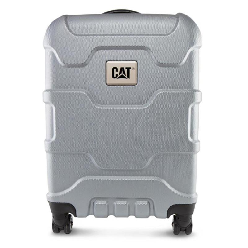 """CAT Roll Cage 18"""" Trolley Luggage (Metallic)"""