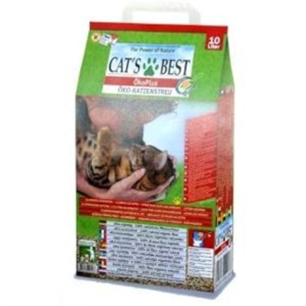 Harga CATS BEST OKO PLUS LITTER 10L (4.3kg)