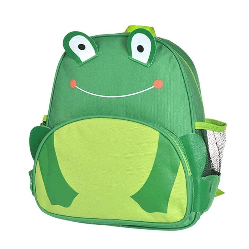 Children Babies Kids Cartoon Frog Shape School Bags Backpack Rucksack Satchel
