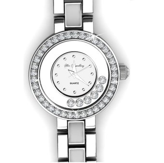 Harga Crystal Watch (White) - Crystals from Swarovski(R)