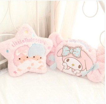 Day one super Meng twin star little twin stars pillow melody candyCushion