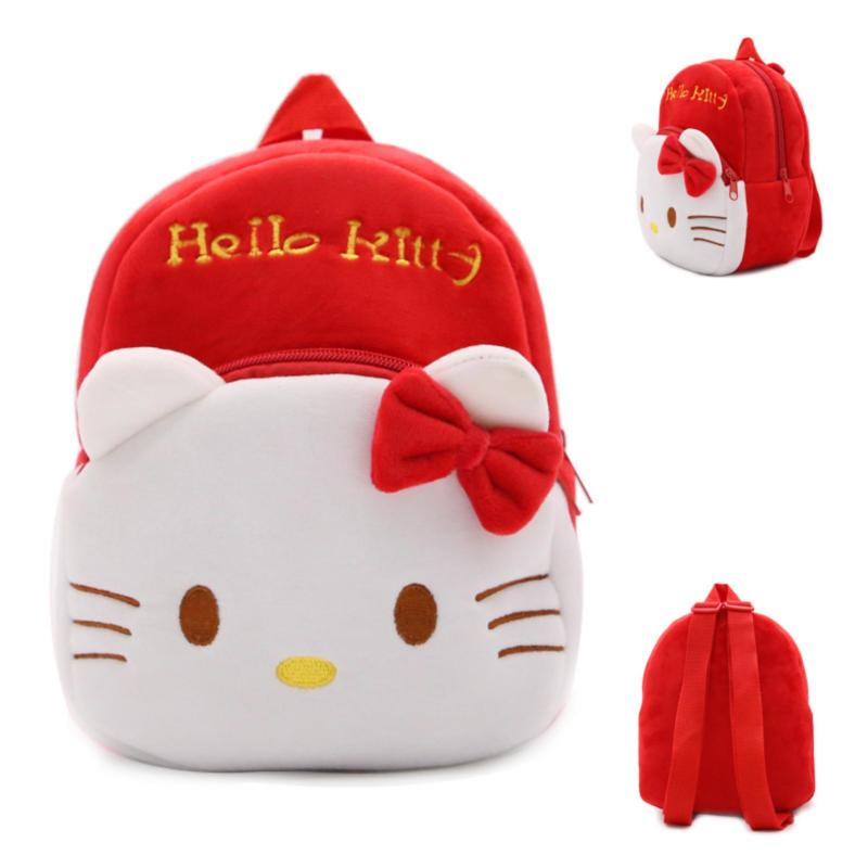 HELLO KITTY PASSION RED 3D KIDS BAG BACKPACK