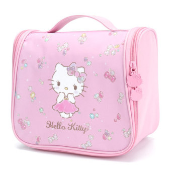 Hello Kitty wash bag travel portable storage bag travel wash bag