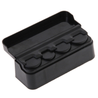 Harga Hanyu Auto Change Coin Case Organizer Storage Box Black
